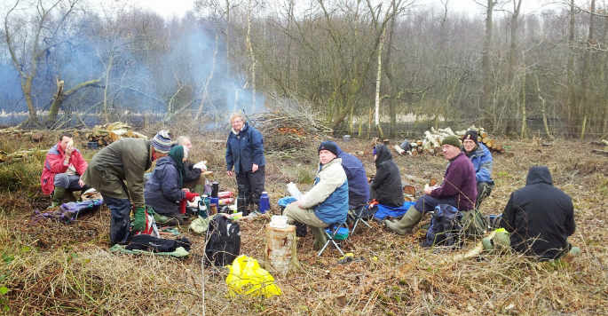 Conservation Volunteering Somerset Levels